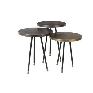 Alim 3 Piece Coffee Table Set Dutchbone
