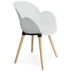 Aon Dining Chair Mikado Living Colour: White
