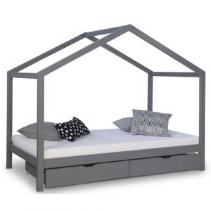 Arland European Single House Bed with Drawers Mack + Milo