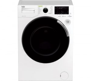 BEKO WEY104064TW Bluetooth 10 kg 1400 Spin Washing Machine - White, White