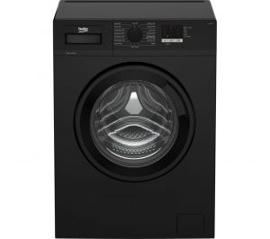 BEKO WTL74051B 7 kg 1400 Spin Washing Machine - Black, Black
