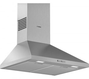 BOSCH Serie 2 DWP64BC50B Chimney Cooker Hood - Stainless Steel, Stainless Steel