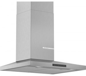 BOSCH Serie 4 DWQ66DM50B Chimney Cooker Hood - Stainless Steel, Stainless Steel