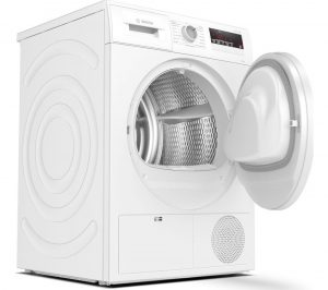 BOSCH Serie 4 WTN83201GB 8 kg Condenser Tumble Dryer - White, White