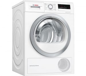 BOSCH Serie 4 WTW85231GB 8 kg Heat Pump Tumble Dryer - White, White