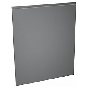 Camden Carbon 600mm Dishwasher Door
