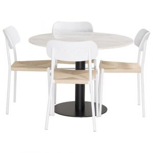Celyn Dining Set with 4 Chairs Ebern Designs