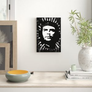 'Che Guevara' Graphic Art on Wrapped Canvas East Urban Home Size: 50cm H x 35cm W