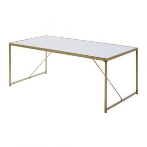 Coffee Table Jahnke Table Base Colour: Gold
