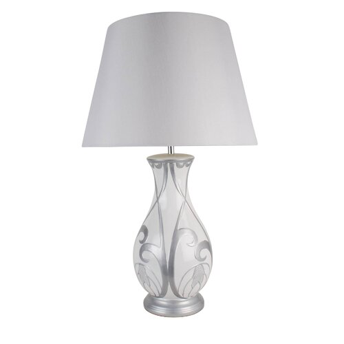 Destinee TABLE LAMP WH/SILVER Ophelia & Co.