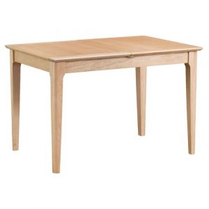 Dudley Extendable Dining Table Fernleaf Size: H78 x L120 x W85cm