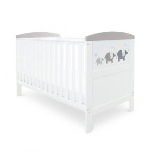 Elephant Coleby Style Cot Bed Ickle Bubba