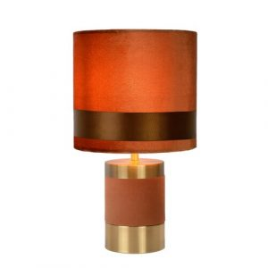 Extravaganza Frizzle 32cm Table Lamp Lucide Finish: Brown