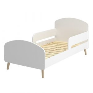 Falmouth Convertible Toddler Bed Mikado Living Colour (Bed Frame): White