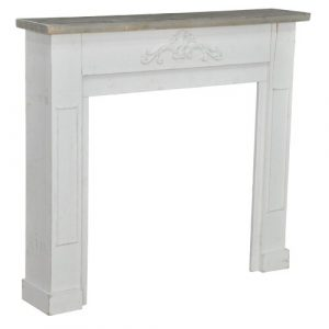Fireplace Mantel Surround Fleur De Lis Living