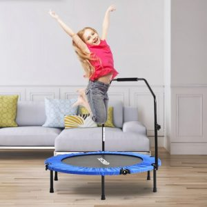 Fitness Trampoline Modern Luxe Pad Colour: Blue