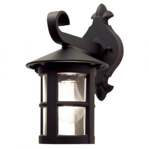 Flor 1 Light Outdoor Wall lantern Marlow Home Co. Size: 29.4cm H x 15cm W x 22.1 D