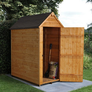 Forest Garden 3x5 Apex Overlap Wooden Shed - Assembly service included