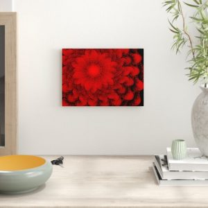Fractal Abstract Graphic Art Big Box Art Size: 29.7cm H x 42cm W