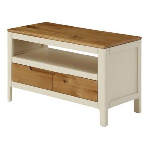 "Furse TV Stand for TVs up to 32"" Brambly Cottage Colour: Spanish White"