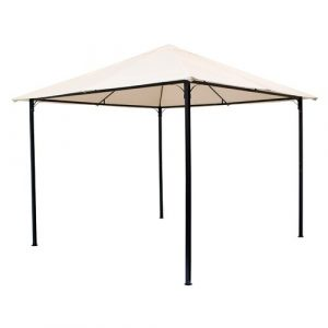 Gass 3m x3m Metal Patio Gazebo Dakota Fields
