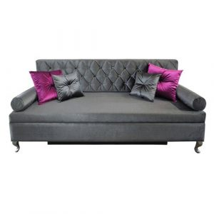 Glamour 3 Seater Sofa Bed Happy Barok