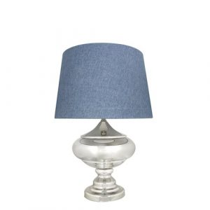 Greenmont 69.5cm Table Lamp Ophelia & Co. Shade Colour: Blue