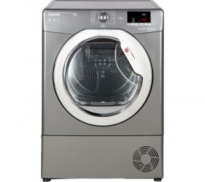 HOOVER Dynamic Next DX C10DCER NFC 10 kg Condenser Tumble Dryer - Graphite, Graphite