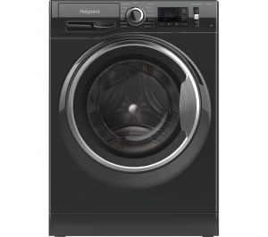 HOTPOINT Activecare NM11 945 BC A UK N 9 kg 1400 Spin Washing Machine - Black, Black