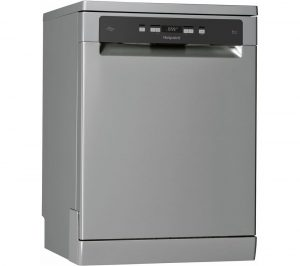 HOTPOINT HFC 3C26 WC X UK Full-size Dishwasher - Inox