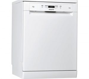 HOTPOINT HFC 3C32 FW UK Full Size Dishwasher - White, White