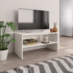 """Havard TV Stand for TVs up to 40"""" Ebern Designs Colour: White"""