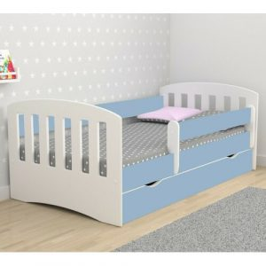 Healy European Toddler Bed Isabelle & Max Bed Frame Colour: Blue