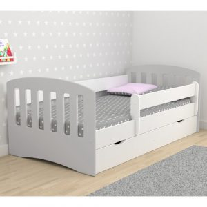 Healy European Toddler Bed Isabelle & Max Bed Frame Colour: Grey