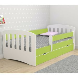 Healy European Toddler Bed Isabelle & Max Bed Frame Colour: Lime green