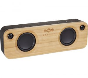 House Of Marley Get Together EM-JA006-SBA Portable Bluetooth Speaker - Black, Black