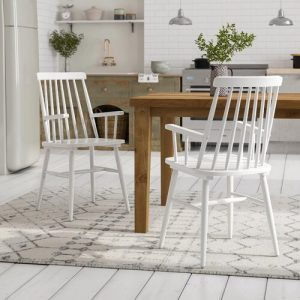 Hull Solid Wood Dining Chair (Set of 2) Fernleaf