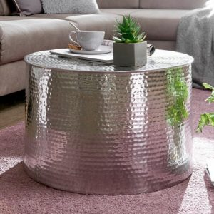 Janay Coffee Table Bloomsbury Market Colour: Silver