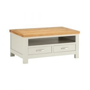 Julianna Coffee Table with Storage Foundstone