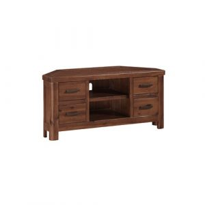 "Julianna TV Stand for TVs up to 50"" Foundstone Colour: Dark Brown"