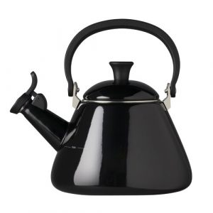 Kitchen and Table 1.6L Whistling Stovetop Kettle Le Creuset Colour: Black