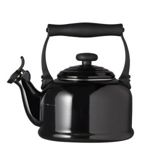 Kitchen and Table 2.1L Whistling Stovetop Kettle Le Creuset Colour: Black