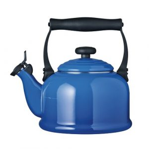 Kitchen and Table 2.1L Whistling Stovetop Kettle Le Creuset Colour: Marseille Blue