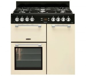 LEISURE Cookmaster CK90F232C 90 cm Dual Fuel Range Cooker - Cream, Cream