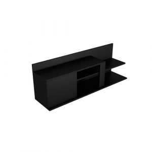 "Marshall TV Stand for TVs up to 40"" Ebern Designs Colour: Black"