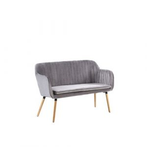 Mireille 2 Seater Sofa Isabelline Upholstery Colour: Grey