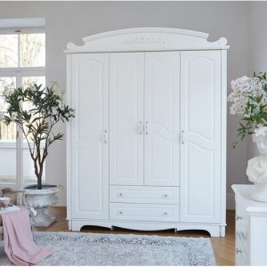 Monson 4 Door Wardrobe Fleur De Lis Living