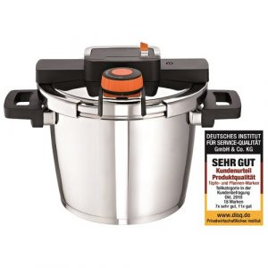 Monza Stainless Steel Pressure Cooker Rohe Germany Size: 6 L
