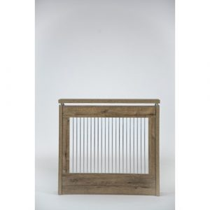 Mueller Small Radiator Cover Highland Dunes Finish: Brown