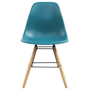 Norden Home Dining Chairs 4 Pcs Yellow Plastic Norden Home Colour: Turquoise
